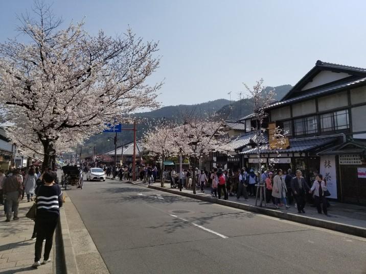Arashiyama's main street